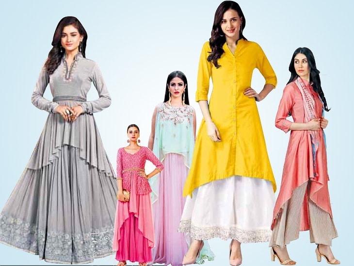 Fashion News In Hindi Asymmetric Design Of Light Colors Will Enhance The Look Change Your Look With Asymmetric Design Of Light Colors Pastel Shades Are In Demand Ebiopic Com Biopic
